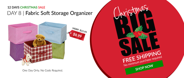 Furinno's Great Savings on Non-Woven Storage Bins.