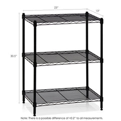 Furinno Wayar 3-Tier Heavy Duty Wire Shelving (WS15002)