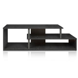 Furinno Low Rise TV Stand 15044BW/BK