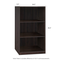 Furinno 3-Tier Adjustable Shelf Bookcase 14151R1CC