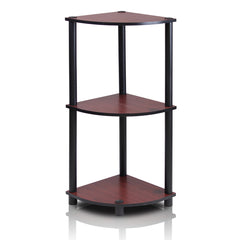 Furinno 3-Tier Multipurpose Shelving Unit 12077DC/BK