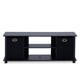 Furinno Entertainment Center 13054BK/BK