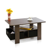 Furinno Coffee Table 11158DBR/BK