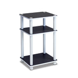 Furinno 3-Tier End Table, Multiple Colors