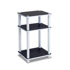 Furinno 3-Tier End Table 11087WH(EX)/WH