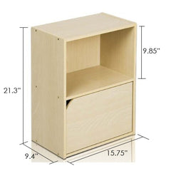 Furinno 2 Tier Bookcase 11204SBE