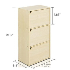 Furinno 3 Tier Bookcase 11206SBE