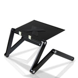 Furinno AdJustable Laptop table X7-II-Black