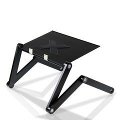Furinno AdJustable Laptop table with Cooler Fans X7-II-Black