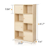 Furinno 4-Tier Shelf 11237SBE