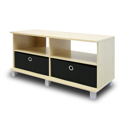 Furinno TV Entertainment Center 11156SBE/BK