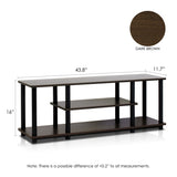 Furinno 3-Tier Entertainment TV Stands, Multiple Color