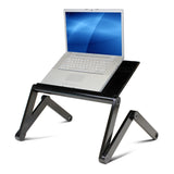Furinno Adjustable Portable Folding Lapdesk K6-BK