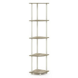 Furinno 5 Tier Multipurpose Shelving Unit 99811DC/BK