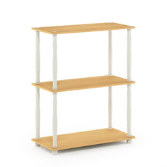 Furinno 3-Tier Multipurpose Shelf 18029BE/WH