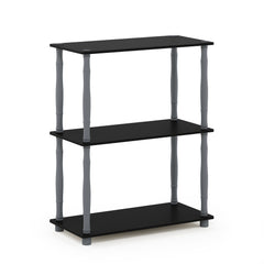 Furinno 3-Tier Multipurpose Shelf 18029BK/GY