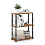 Furinno 3-Tier Multipurpose Shelf 18029LC/BK