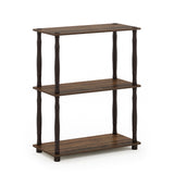 Furinno 3-Tier Multipurpose Shelf 18029WN/BR