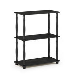 Furinno 3-Tier Multipurpose Shelf 18029AM/BK