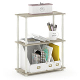 Furinno 3-Tier Multipurpose Shelf 18029OK/WH