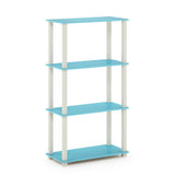 Furinno 4-Tier Multipurpose Shelf 18028DC/BK
