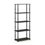 Furinno 5-Tier Multipurpose Shelf 18032BE/WH