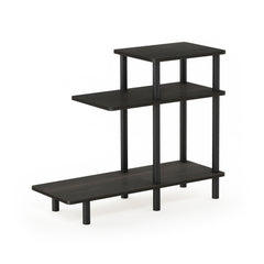 Furinno 3-Tier Sofa Side Table 18127EX/BK
