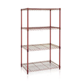 Furinno 4-Tier Heavy Duty Wire Shelving WS15004BY