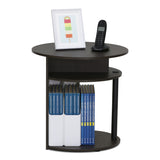 Furinno End Table 15080WNBK