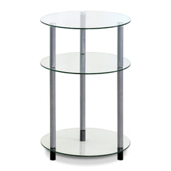 Furinno 3-Tier Side Table FTD0406G