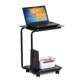 Furinno U-Shaped Glass Laptop Desk FTD0412G