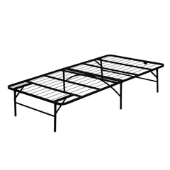 Furinno Mattress Foundation Platform Metal Bed Frame FB001T