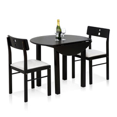 Furinno 3-PC Dining Set FKCD075-3