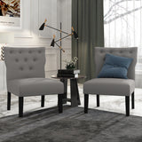 Furinno Accent Chair FC18702DGY SET OF 2
