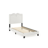 Furinno Nailhead Trim Bed Frame FB18013T-BG