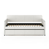 Furinno Upholstered Daybed with Trundle FB18010D-BG