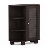 Furinno Storage Shelf with Louver Door Cabinet FR18695EX