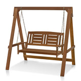 Furinno Hanging Porch Swing with Stand FG16409