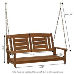 Furinno Hanging Porch Swing with Chain FG16409SC