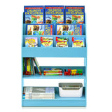 Furinno Bookshelf with Storage Cabinet FR16118LB