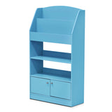 Furinno Bookshelf with Storage Cabinet FR16119LB