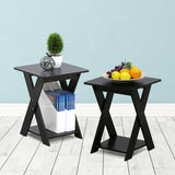 Furinno End Table 2-16050EX SET OF 2