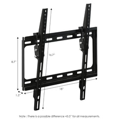 Furinno Wall Mount TV Bracket FRLB001BK