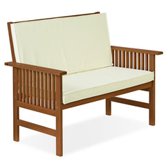 Furinno Outdoor Bench with Cushion FG17319