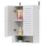Furinno Double Door Wall Cabinet 16063WH