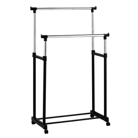 Furinno Double Garment Rack WS17022L-BK