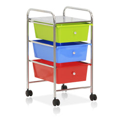 Furinno 3-Drawer Trolley WS17184