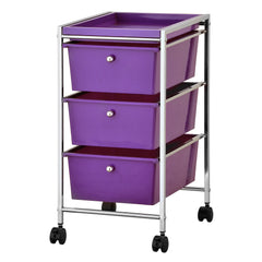 Furinno 3-Drawer Storage Cart WS17303