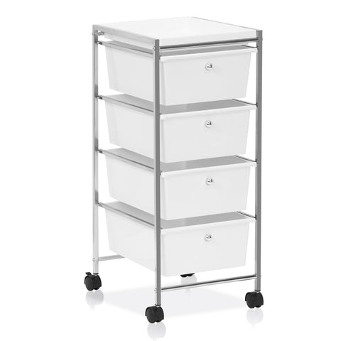 Furinno 4-Drawer Storage Cart WS17304