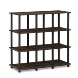 Furinno 9 Space Shelf 16106WN/BR